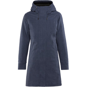 Elkline Apres Ski Winter Coat Women Darkbluemelange